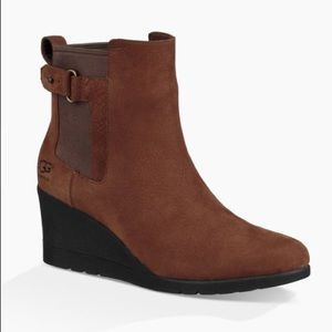 🎁NEW UGG INDRA WEDGE Color:STOUT